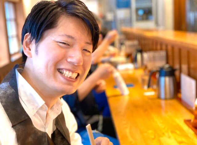 男三人のランチタイム!つけそば 神田勝本 + カフェ ディゾン DIXANS 神保町店