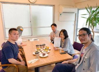 シンクメディアジャーナル:第29回 シンクメディアランチタイム at 神田たまごけん 神保町店+STYLE'S CAKES & CO.+Cafe vege Bi